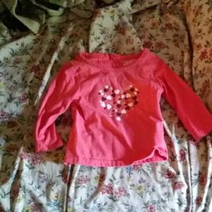 12 month girls shirt